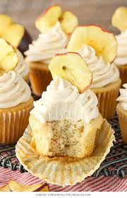 Apple Butter Cupcakes a deliciously easy cupcake recipe with apple butter in both the cupcake