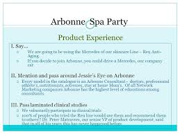 Arbonne Spa Party Product Experience I Say