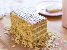 esterházy torte saftiger nusskuchen mit cremefüllung