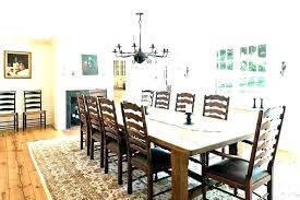 Dining Rug Under Table Farmhouse Round Room Area