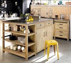 meuble cuisine diy diy déco un ilot de cuisine à faire avec 3 fois rien deco cool