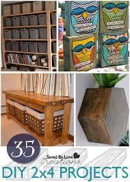 35 DIY 2x4 Project Tutorials