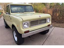 1968 International Scout For Sale   ClassicCars.com   CC-985719 1963 Scout 80 Cabtop Scouting Civil Defense Inttionalscoutoverlanedlights The Fast Lane Truck 1979 Traveler Old Intertional Parts Bangshiftcom Could This Be Most Bad Ass 1978 Harvester Ii Terra Franks Car Barn Revved Up Work On Belding Mans Is As Ih Intionalharvester 4x4 Light Trucks Curbside Classic 1976 Hometown Twotone Intertional Scout 800 1980 Overview Cargurus For Sale Near Cadillac Michigan