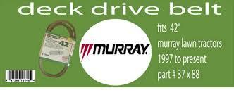 Murray Mower Deck Belt by Murray 38