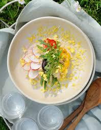 recette cuisine nicoise salade niçoise par virginie basselot pour 4 personnes recettes