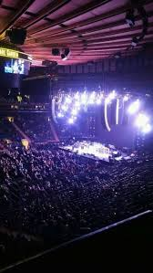 Madison Square Garden section 210 home of New York Rangers New