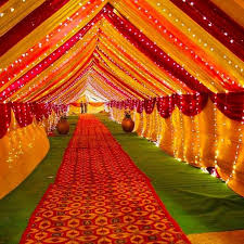 Indian Wedding Decoration Ideas With Traditional Stage Simple Reception Decorations