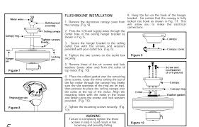 Hampton Bay Ceiling Fan Instructions by Harbor Bay Ceiling Fan Manual Astounding Drawing Hampton Wiring
