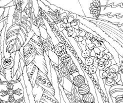 Dreadlocks Printable Bohemian Adult Coloring Page By Candy Hippie Candyhippie