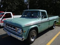 100 Pickup Truck Camper 1968 Dodge D200 Special Custom_Cab