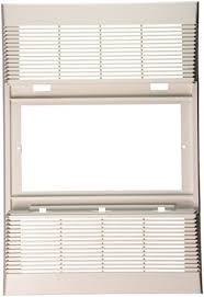 Nutone Bathroom Fan Replacement Grille by Amazon Com Nutone S89339000 Bathroom Fan Cover White Home U0026 Kitchen