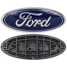 100 Ford Truck Logo Oval Front Grill Emblem Badge Replacement 9 X 35