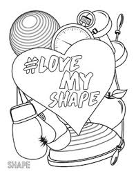 LoveMyShape Coloring Book Download