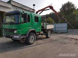 Used Mercedes-Benz 918 4X4 + HR PALFINGER PK 6500 Flatbed ... 2004 Intl 4300 16 Flatbed Truck For Sale Youtube Med Heavy Trucks For Sale Intertional Trucks In Tennessee For Used Bucket Reliable Bts Equipment 1970 Gmc 13 Ton Flatbed In Pa Used 2013 Freightliner M2106 Truck New Mitsubishi Fuso 7c15 Httputoleinfosaleusflatbed 1977 Chevrolet C65 Flatbed Truck Item Dc53 Sold Octob Ford Georgia On Maun Motors Self Drive Flat Bed Van Hire From