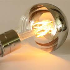 e27 led light bulb g95 silver reflector top es