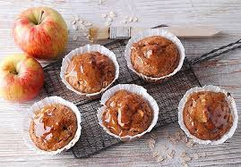 vegane apfel hafer muffins