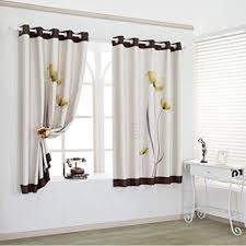 gardinen einfache schattierung shade bedruckte vorhänge