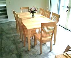 Maple Dining Room Table With Leaf Solid Set Rh Mayodon Club Sets For Sale Maine