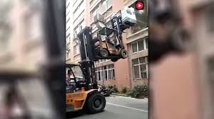 This Double Forklift Technique Is Definitely Not OSHA Approved - The ... Forklift Accidents Missouri Workers Compensation Claims 5 Tips To Remain Accidentfree On A Homey Improvements Pedestrian Safety Around Forklifts Most Important Parts Of Certifymenet Using In Intense Weather Explosionproof Trucks Worthy Fork Truck Traing About Remodel Modern Home Decoration List Synonyms And Antonyms The Word Warehouse Accidents Louisiana Work Accident Lawyer Facility Reduces Windsor Materials Handling Preventing At Workplace