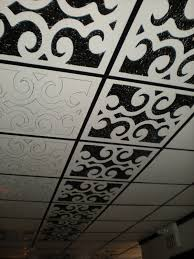 Genesis Designer Ceiling Tile by Ugly Drop Ceiling Solutions Google Search House Pinterest