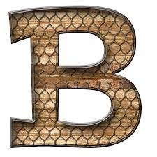 Letter B Clipart Transparent Stock Bear RR Collections