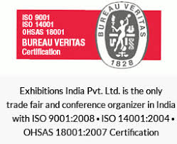 exhibitions india iso 9001 2008 iso 14001 2004 ohsas