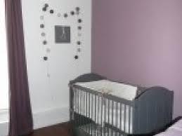 chambre violet et deco chambre bebe mauve et gris par photosdecoration