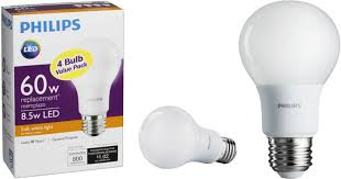 best buy philips led light bulb 60w equivalent 4 pack only 3 99
