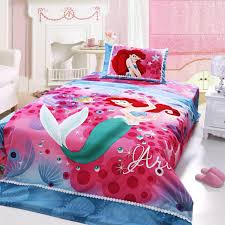 freely match little mermaid bedding set you can choose cushion
