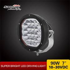 5w cree new driving lights 90w 7inch lumen led car bulbs