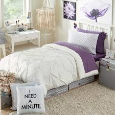Twin Xl Dorm Bedding by Erin Andrews White Kiss Pleat Best Bedding Collection Twin Xl