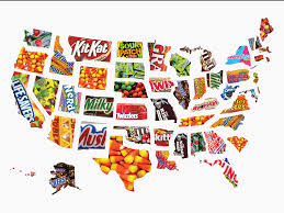 Quotes For Halloween Candy by Map The Most Popular Halloween Candy In Every Us State Business