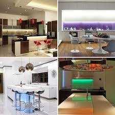 colour changing cabinet kitchen lighting plasma tv led