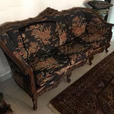 Vintage Chair Set - Chinese Silk Lounge