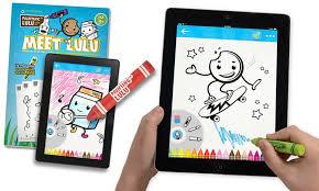 Painting Lulu Paper To Digital Coloring Packs 2 Count Award