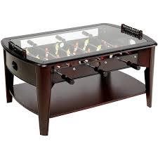 barrington 42 inch wooden foosball coffee table walmart com