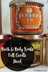 Bath And Body Works Pumpkin Pie by Bath And Body Works Haul The Beauty Section