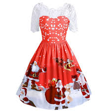 Amazoncom 20182019 New Christmas DressFashion Women Merry
