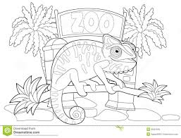 Zoo Coloring Pages Page Pdf And Activities Kindergarten For Online