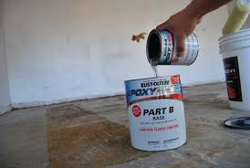 Rust Oleum Epoxyshield Garage Floor Coating Instructions by Garage Floor Makeover With Rust Oleum Epoxyshield