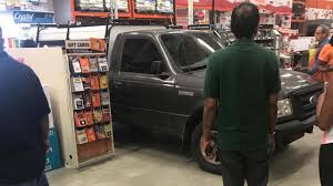 100 Truck Doors Police Man Intentionally Drives Pickup Truck Through Home Depot Doors