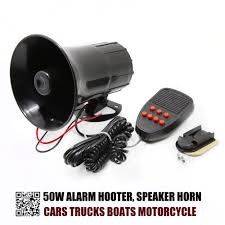 OKC 50 W Car Horn Siren 5 Sound Horn Siren PA System 12V Warning ... Big Button Box Alarms Sirens Horns Hd Sounds App Ranking And Vehicle Transportation Sound Effects Vessels Free 18 Wheeler Truck Horn Effect Or Bus Stebel Musical Air Kit The Godfather Tune 12 Volt Car Klaxon Passing By Youtube Fixes Pack 2018 V181 For Ets2 Mods Euro Truck Hot 80w 5 Siren System Warning Loud Megaphone Mic Auto Jamworld876 1 Sounds Ats Wolo Bigbad Max Deep 320hz 123db 12v 80v Reverse Alarm Security 105db Loud