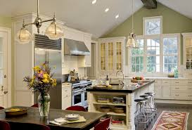 Up Lighting For Cathedral Ceilings by Vaulted Ceiling Kitchen Houzz