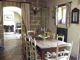 Rustic Chic Dining Room Country Table Farmhouse Design With