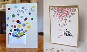 handmade birthday card ideas of circles