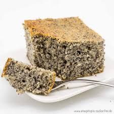 low carb quarkkuchen mit mohn