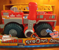 100 First Fire Truck My Tonka Strong Arm Popsquallys