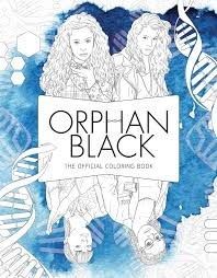 Orphan Black The Official Coloring Book 9781683831006 Hr