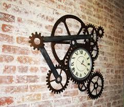 Gear Wall Clocks
