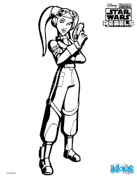 SWR Hera Coloring Page Color Online Print